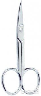 Ножницы маникюрные для ногтей Beter изогнутые хромированные 9 см (8412122340469)