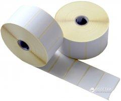Этикетка полипропилен Tama 30 x 20 мм 2000 этикеток прямоугольная 9 шт White (4673)