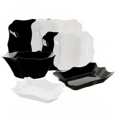 Сервиз Luminarc Authentic Black/White из 19 предметов (E6195)