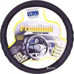Чехол на руль Vitol Premium B 136 L BK Черный