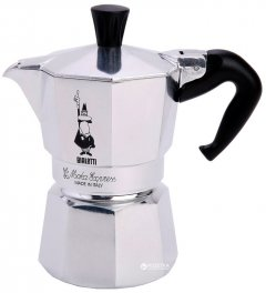 Гейзерная кофеварка Bialetti Moka Express 90 мл (0001168)