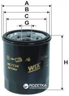 Фильтр масляный WIX Filters WL7134 - FN OP575