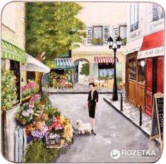 Набор подставок под горячее Lefard 259 Улицы Парижа 11 х 11 см 4 шт (259-146)