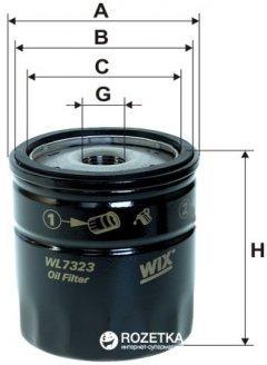 Фильтр масляный WIX Filters WL7323 - FN OP532/2