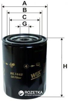 Фильтр масляный WIX Filters WL7448 - FN OP526/6