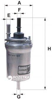 Фильтр топливный WIX Filters WF8311 - FN PP836/3