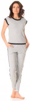 Футболка + штаны BARWA garments 0111/112 L Серый меланж (2111111123101)
