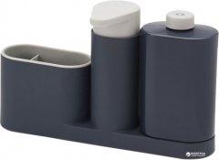 Органайзер для мойки с дозатором для мыла JOSEPH JOSEPH SinkBase Plus 3 в 1 (85091)