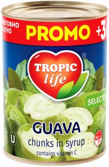 Гуава кусочками в сиропе Tropic Life 425 г (4820086920971 / 5060162900506)