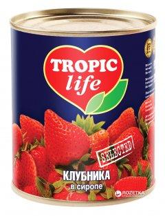 Клубника в сиропе Tropic Life 850 мл (5060162901060)