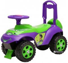 Автомобиль-каталка Active Baby музыкальный Фиолетово-зеленый (013117-0202М)