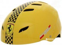 Шлем Ferrari FAH50 размер М 56-58 см регулируемый Желтый (6947045677153)