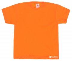 Футболка Fruit of the loom 061033044 Valueweight 164 Оранжевая (5000000007097)