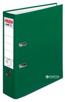 Папка-регистратор Herlitz maX.file Protect А4 80 мм Зеленая (5480504)