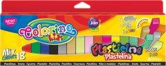 Пластилин Colorino Mix 18 цветов 300 г (57424PTR)