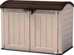 Ящик для внешнего хранения Keter Store It Out Ultra Бежево-коричневый (7290106922471)