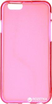 Панель Drobak Elastic PU для Apple iPhone 6/6s Pink Clear (210288)