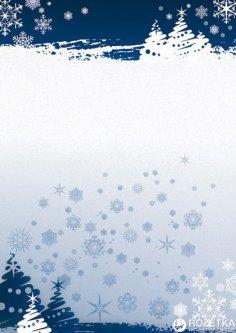Набор дизайнерской бумаги Galeria Papieru Zima 170 г/м² А4 25 листов (5903069004437)