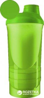 Шейкер ShakerStore Wave+ 600 мл Зеленый (WAVE+ Зеленый)