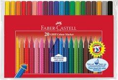 Набор фломастеров Faber-Castell Grip 20 цветов (4005401553205)
