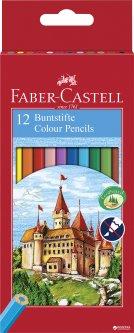 Набор цветных карандашей Faber-Castell 12 шт (7891360580089)