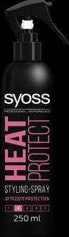 Термозащитный спрей для укладки SYOSS Heat Protect (фиксация 2) 250 мл (4015000541947)