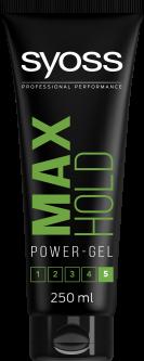 Гель SYOSS Max Hold (фиксация 5) 250 мл (9000100591058)