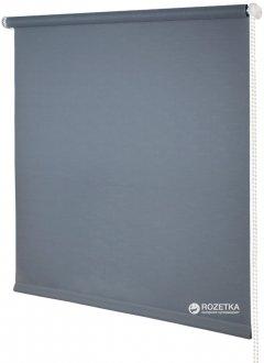Ролета тканевая Деко-Сити Мини 37 x 170 см, лен, Серая (31020037170)