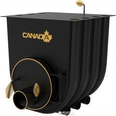 Печь калориферная для дома и дачи Canada О1 с варочной поверхностью (СW-01200500)