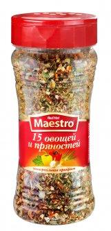 Приправа Red Hot Maestro 15 овощей и пряностей 200 г (5060140291275)