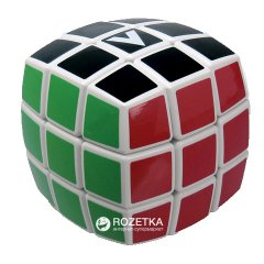 Головоломка V-Cube Кубик Рубика 3х3 V3b-WH Белый Круглый (5206457000166)