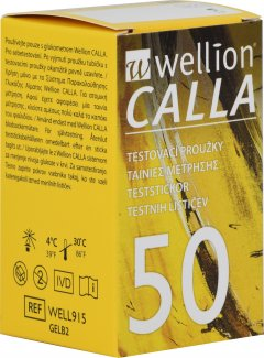 Тестовые полоски для глюкометра WELLION CALLA 50 (WELL915)