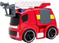 Пожарная машина Bei Yu Jia с краном и светом 23 см (A849523U)