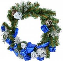 Венок Новогодько (YES! Fun) d-35 см Зимний винтаж Плетенный (4820079037297)