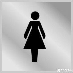 Табличка АТМА Туалет Женский