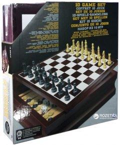Набор в деревянной коробке Spin Master Games 10 классических игр (SM98376/6033153)