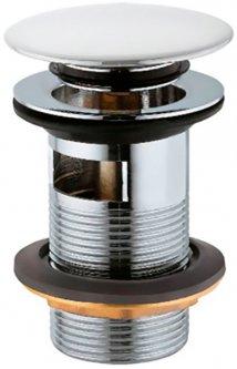 Донный клапан для раковины JAQUAR ALD-WHM-729 c переливом белый