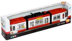 Городской трамвай Big Motors Красный (1258) (4812501116595-2)