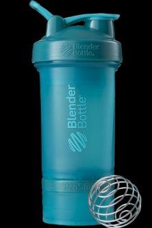 Шейкер BlenderBottle ProStak с шариком 650 мл Голубой (PS 22oz Teal)