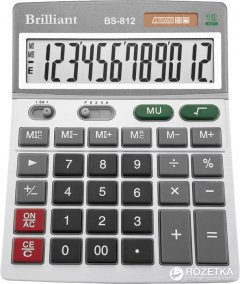 Калькулятор электронный Brilliant BS-812B