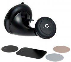 Автодержатель для телефона магнитный Global Hold M07SM Black (1283126473630)