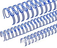 Металлические пружины bindMARK 6.4 мм 100 шт Синие (20000472130)