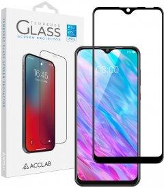 Защитное стекло ACCLAB Full Glue для ZTE Blade 20 Black (1283126508905)