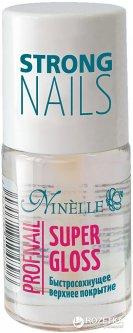 Быстросохнущее верхнее покрытие Ninelle Super Gloss Profnail 11 мл (8435328104765)