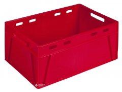 Ящик пластиковый универсальный Полимерцентр 600х400х280 мм Красный (ST6428-1)