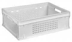 Ящик пластиковый универсальный Полимерцентр 600х400х200 мм Белый (ST6420-2)