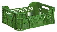 Ящик пластиковый универсальный Полимерцентр 400х300х155/110 мм Зеленый (ST4315-3.1)