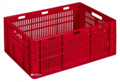 Ящик пластиковый универсальный Полимерцентр 600х400х260 мм Красный (ST6426-3)