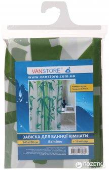 Занавеска для ванной Vanstore Bamboo 61102 240x200