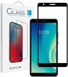 Защитное стекло ACCLAB Full Glue для ZTE Blade L210 Black (1283126508943)